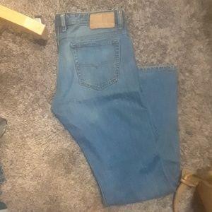 Diesel VIKER straight fit jeans.